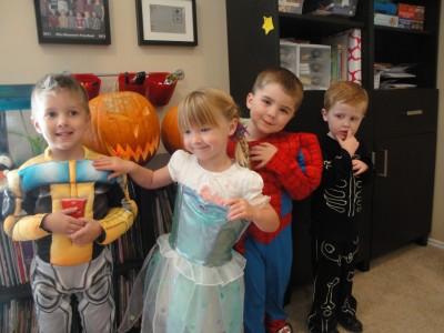 Halloween - Austin, Kaili, Luke & Elliot